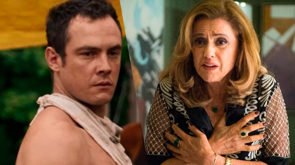 Em Outro Lado do Paraíso, Gael acusava a mãe por ser o motivo de sua violência, outro novela de Wacyr Carrasco (Foto: Reprodução)