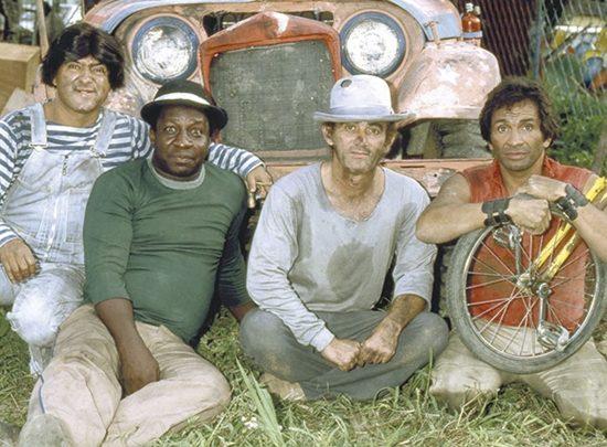 Série Os Trapalhões foi um fenômeno de audiência na Globo. (Foto: Reprodução)