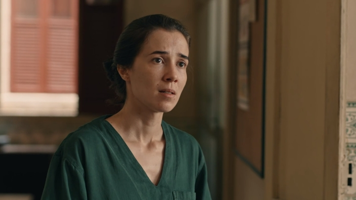 Marjorie Estiano em cena de Sob Pressão. (Foto: Divulgação/TV Globo)