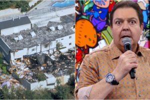 Faustão comentou terremoto que vitimou dezenas de pessoas nos EUA. (Foto: Montagem/Reprodução)