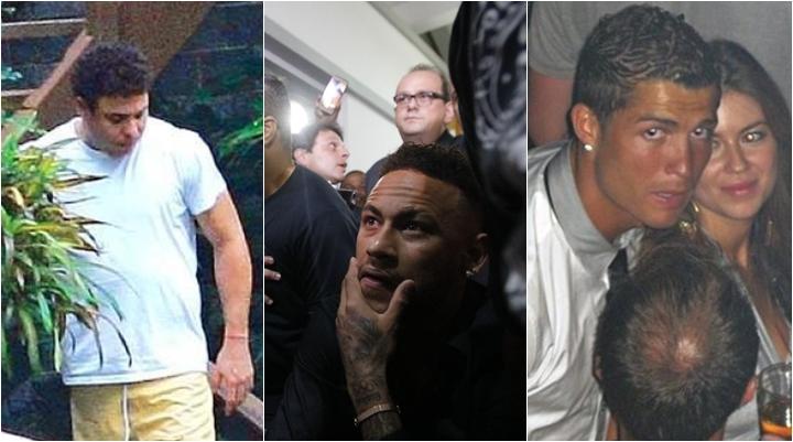 Além de Neymar, outros jogadores famosos se envolveram em escândalos que abalaram a carreira. (Foto: Montagem/Reprodução)