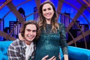 O ator da Globo, Rafa Vitti e a apresentadora do Lady Night, do Multishow Tatá Werneck finalmente deram um nome para a primeira filha do casal (Foto: Divulgação)