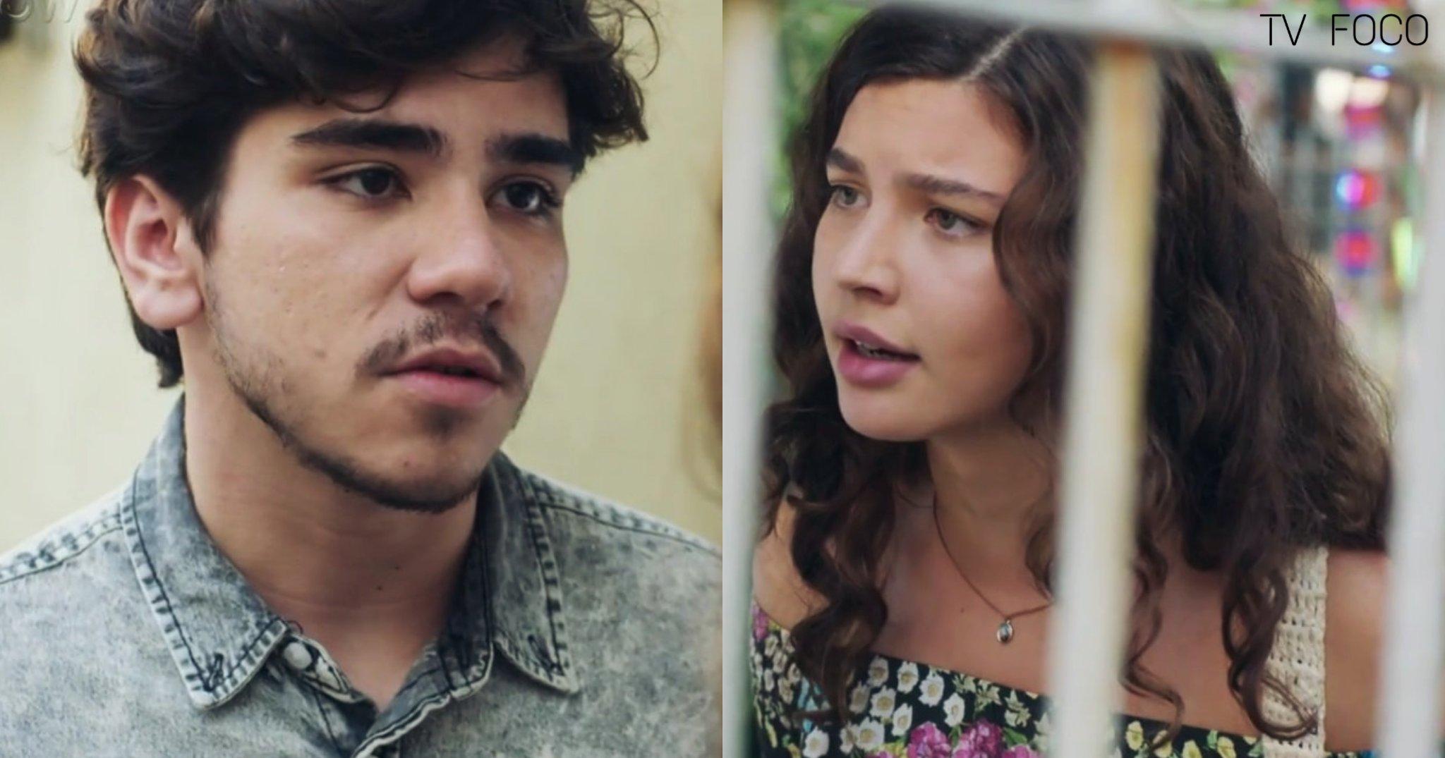 Rita encara Tadeu de frente e detestará o ato em Malhação Toda Forma de Amar da Globo