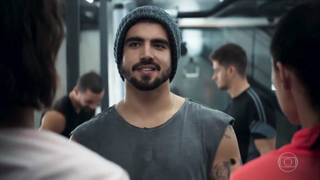 Rock (Caio Castro) em A Dona do Pedaço na Globo