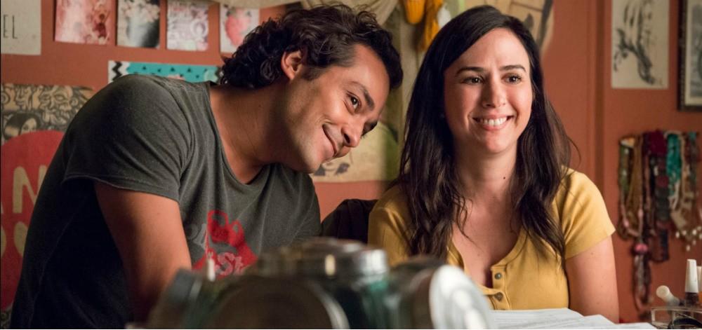 Eduardo Sterblitch e Tatá Werneck formam casal improvavelmente fofo em Shippados, do Globo Foto: Reprodução