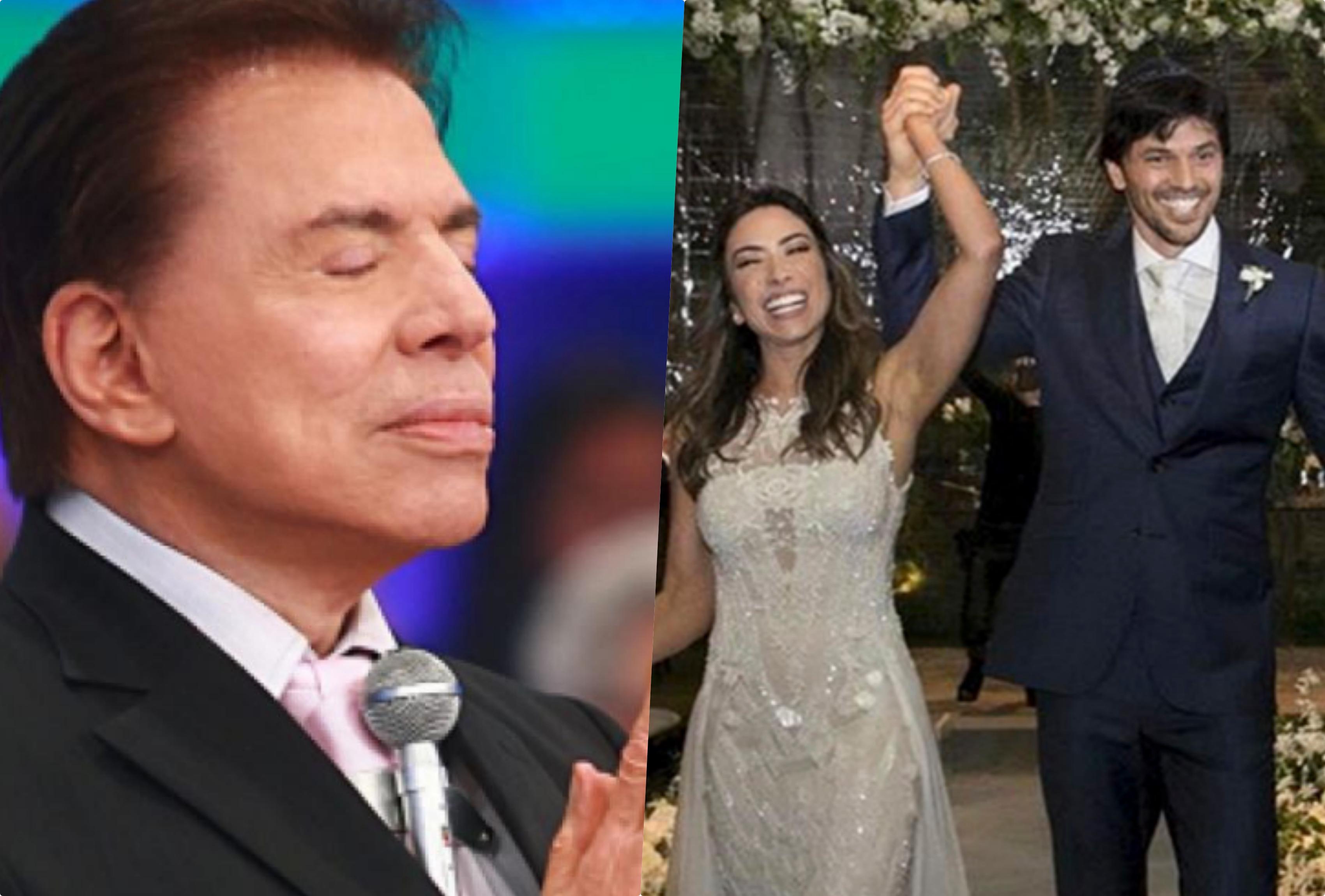 Silvio Santos falou recentemente do casamento de Patrícia Abravanel com Fábio Farias