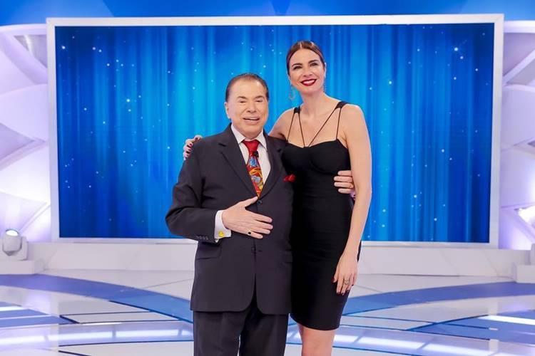 Silvio e Luciana Gimenez no SBT – Reprodução: Instagram