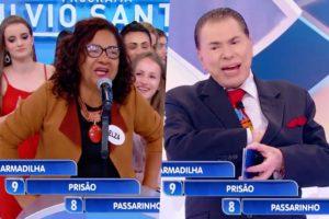Programa Silvio Santos do SBT teve momento inacreditável na emissora (Foto reprodução)