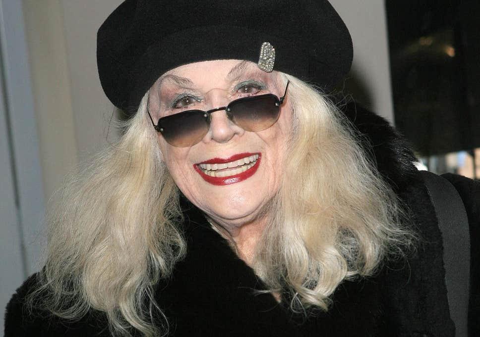 A atriz Sylvia Miles (Foto: Divulgação)
