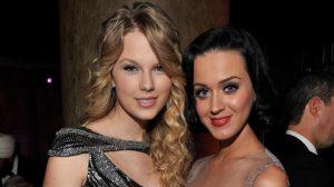 A cantora Taylor Swift e sua rival Katy Perry declararam paz entre as duas e postaram fotos juntas (Foto: Reprodução)