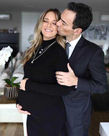 Ticiane Pinheiro e Cesar Tralli acabam de ser anunciados com pais de Manuella