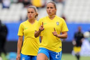 As meninas da Seleção Brasileira renderam boa audiência para a Globo (Foto: Reprodução)