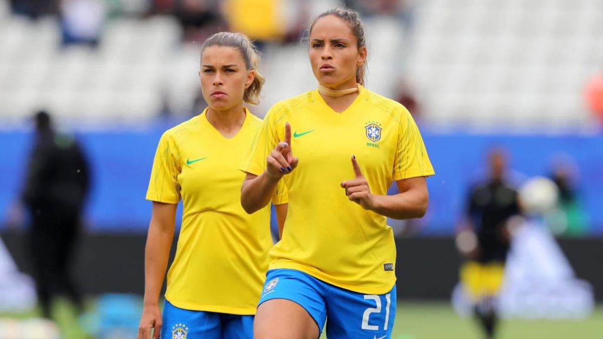 As meninas da Seleção Brasileira feminino renderam boa audiência para a Globo (Foto: Reprodução)