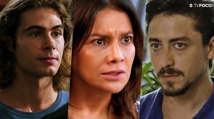 Janaína (Dira Paes) desabará ao saber o quão mal é Jerônimo (Jesuíta Brabosa) e detonou a vida de João (Rafael Vitti) na Globo em Verão 90