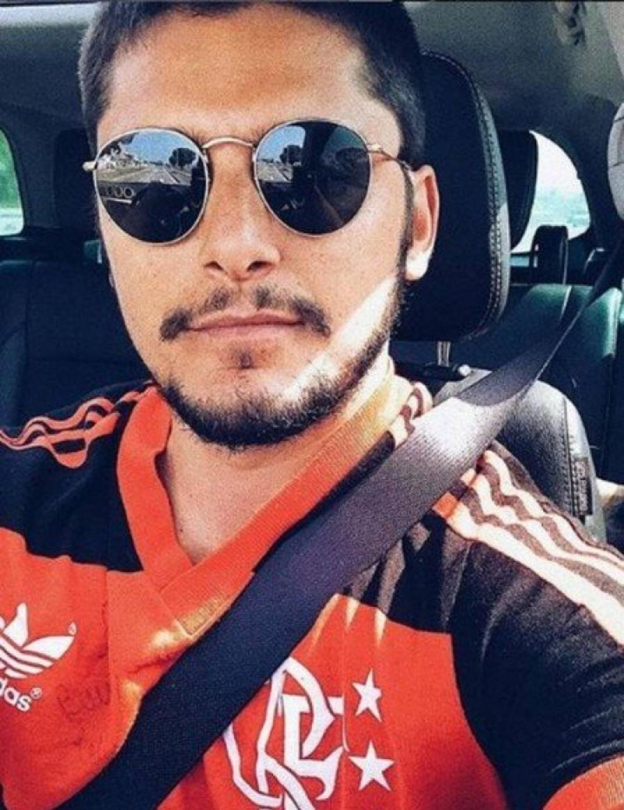 Bruno Gissoni detonou o Flamengo (Foto: Reprodução)