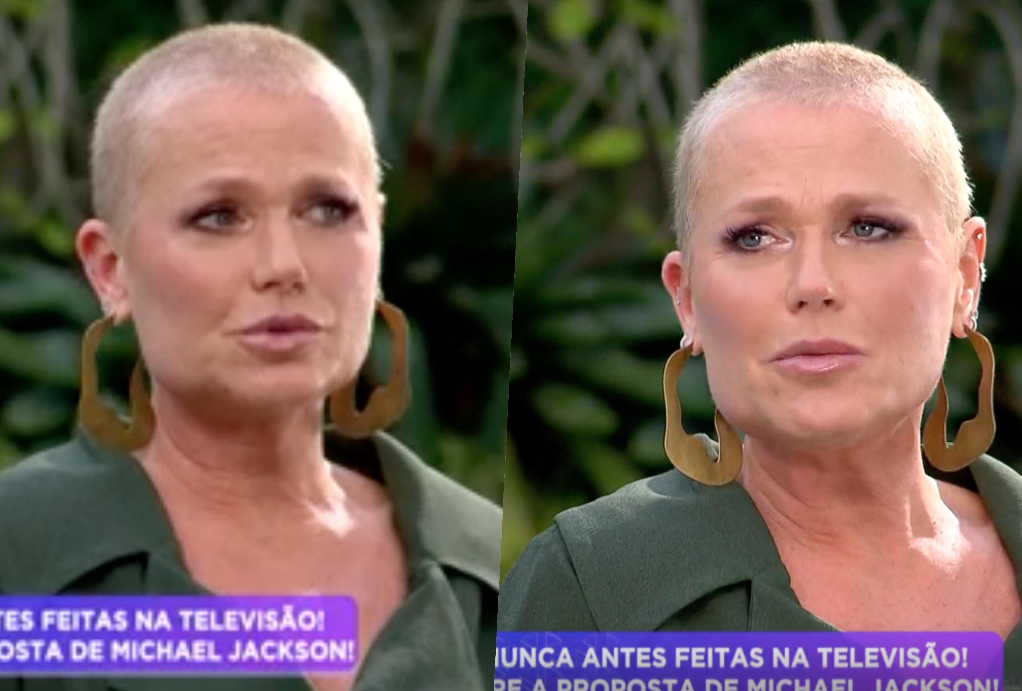 Xuxa falou sobre os abusos sexuais que sofreu na infância (Foto: Reprodução/ Record)