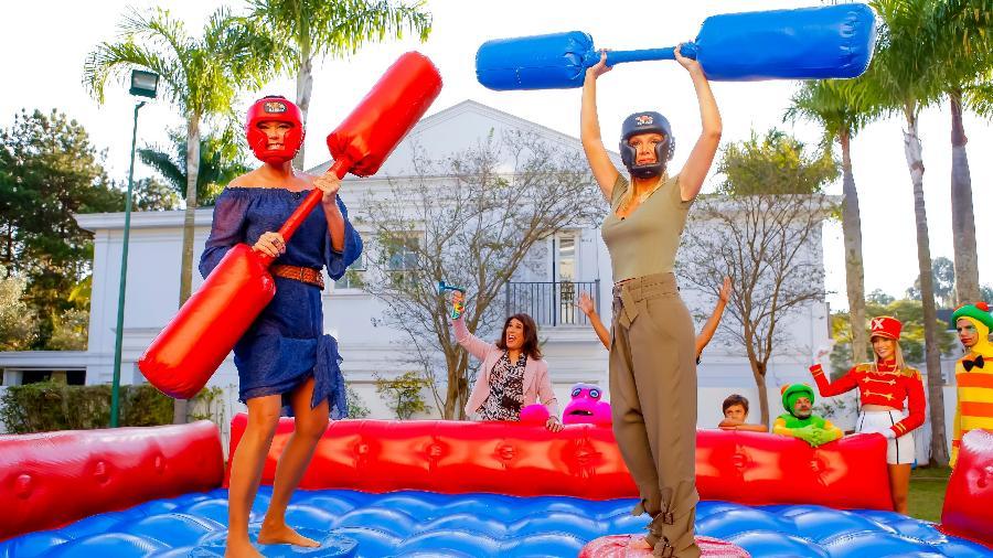 Xuxa e Eliana juntas em competição no SBT (Foto: Gabriel Cardoso/Divulgação)