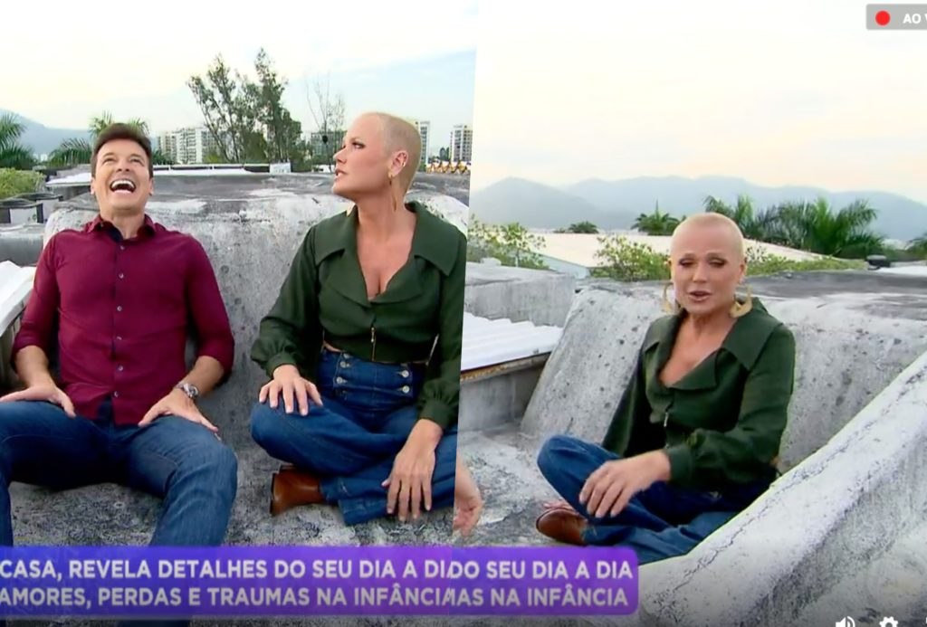 Xuxa abriu o jogo sobre teste do sofá na Globo para Rodrigo Faro na Record