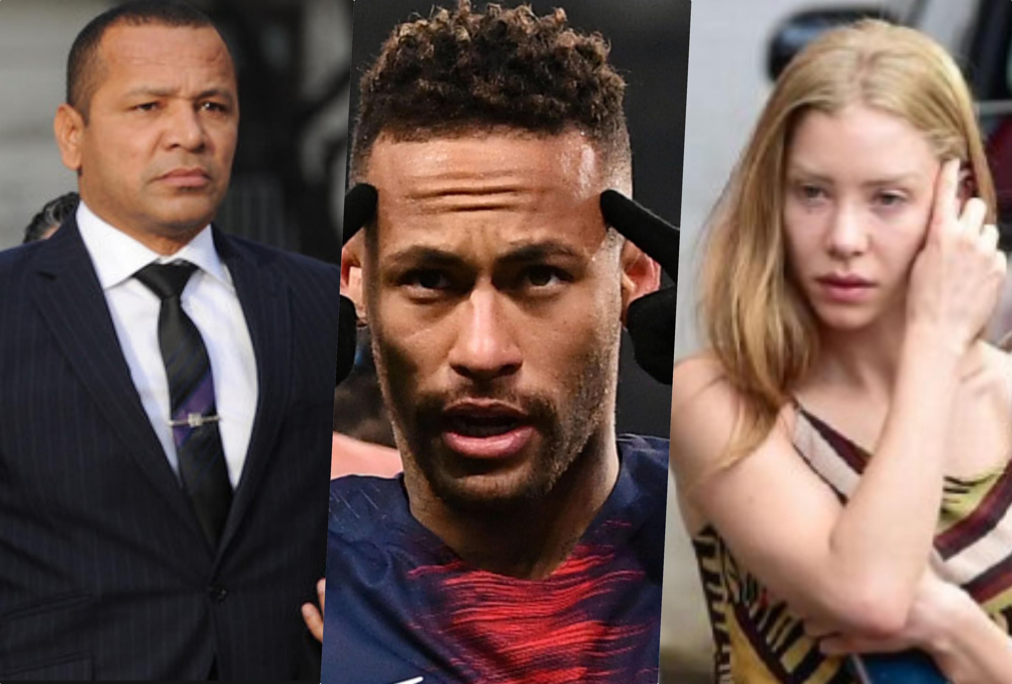 Neymar pai desistiu de denunciar ex-advogado de Najila Trindade (Foto montagem: TV Foco)