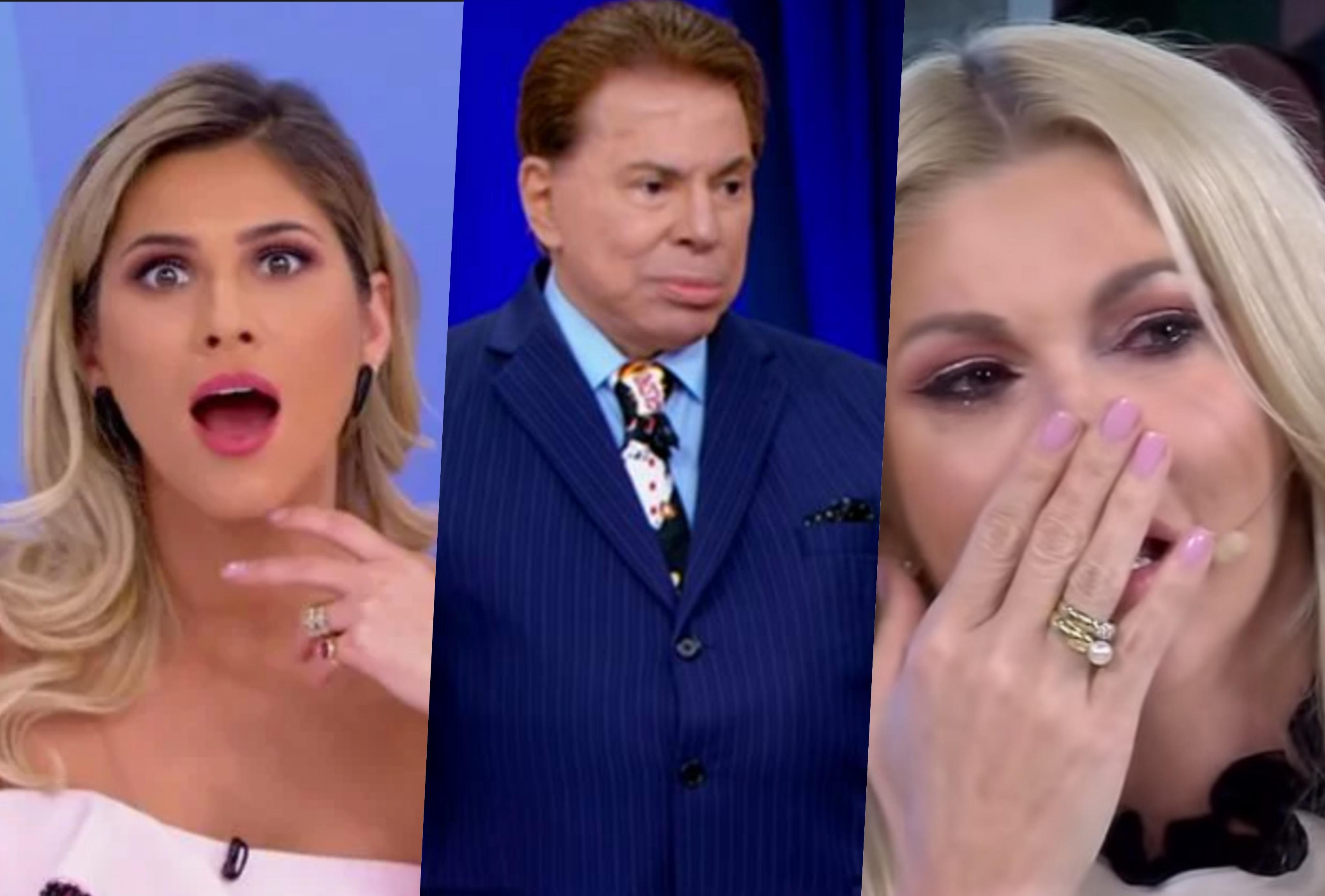 Silvio Santos questionou Livia Andrade sobre polêmicas recentes com Fontenelle e Val Marchiori