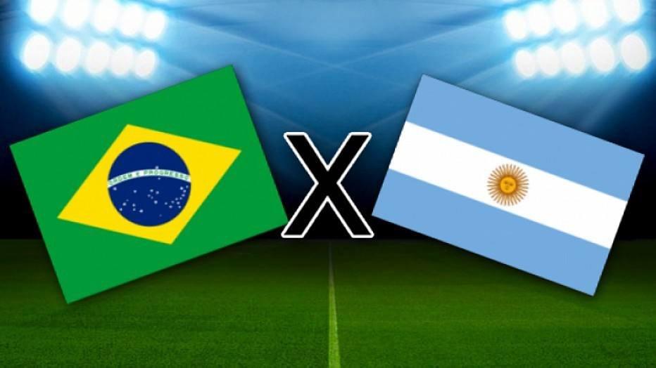 Brasil entra em campo contra a Argentina disputando uma vaga na final da Copa América (Foto: Reprodução)