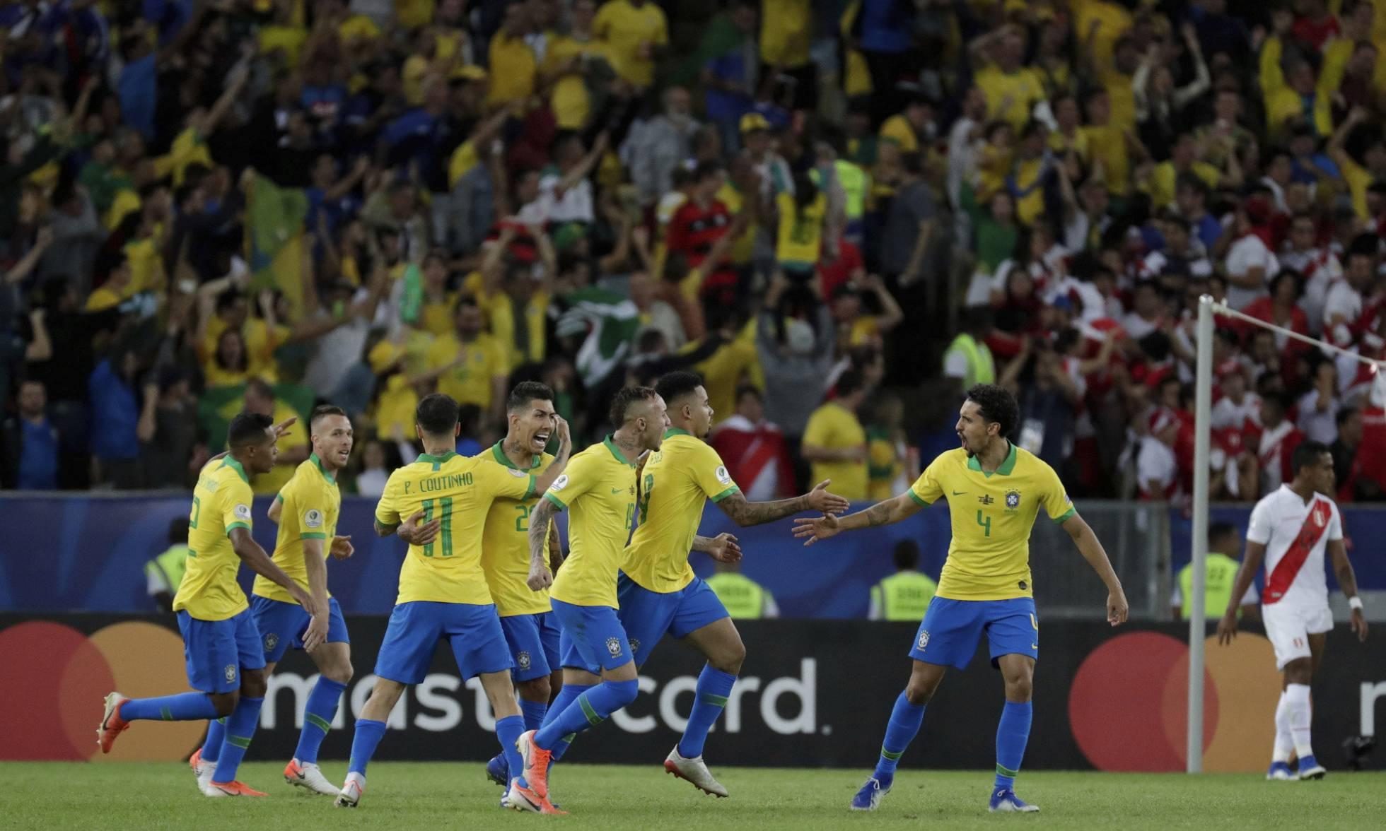 Brasil se consagrou como o grande campeão da Copa América e fez a Globo explodir no Ibope (Foto: Rerodução)
