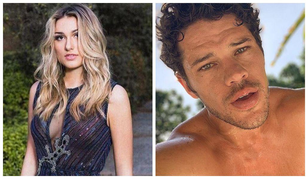 José Loreto e Sasha Meneghel tiveram romance secreto exposto (Foto: Reprodução/ Montagem TV Foco)