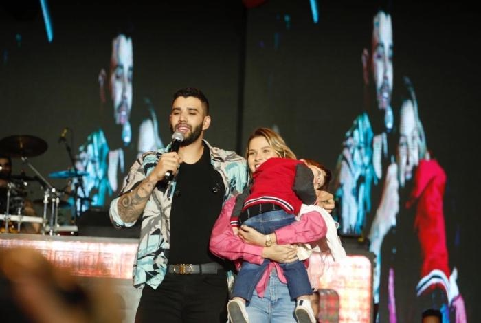 Gusttavo Lima fez uma declaração de amor para a esposa Andressa Suita