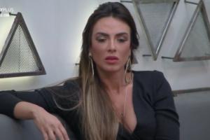 Nicole Bahls durante o reality show Power Couple Brasil 4, protagonizou momento icônico (Foto: Reprodução)