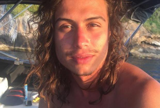 Francisco Vitti, irmão de Rafael Vitti, foi chamado de gay (Foto: Reprodução)