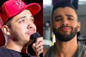 Wesley Safadão e Gusttavo Lima tiveram briga escancarada e briga por causa de público pode ser o grande motivo (Foto: Reprodução)