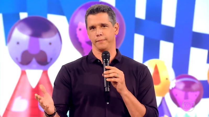 Márcio Garcia no último episódio da 5ª temporada do Tamanho Família (Foto: Reprodução/Globo)