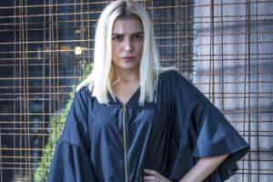 A famosa atriz e ex-apresentadora do Vídeo Show da Globo, Monica Iozzi surpreende ao falar sobre perrengue que foi obrigada a enfrentar (Foto: Globo/Paulo Belote)
