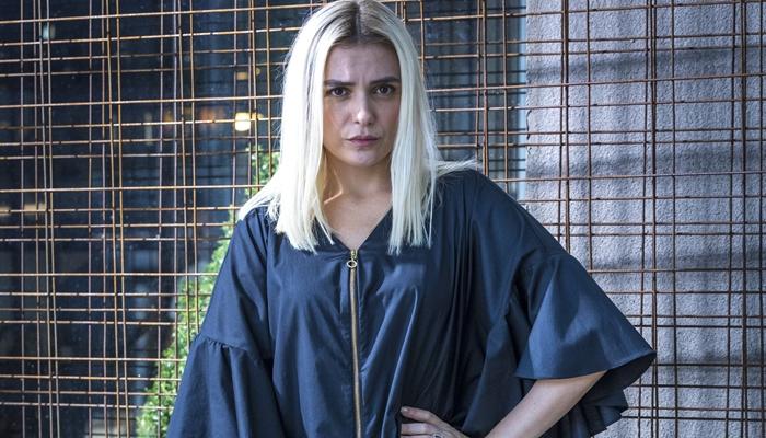 Monica Iozzi como Kim em A Dona do Pedaço (Foto: Globo/Paulo Belote)