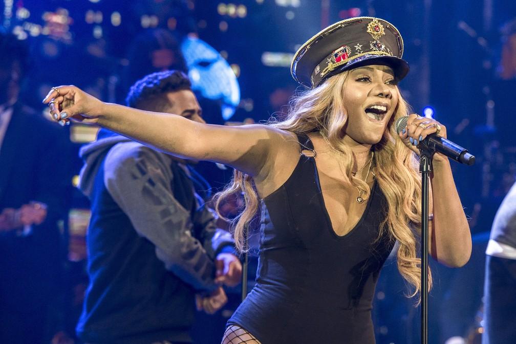 """Ludmilla empatou com Di Ferrero na vitória do """"Show dos Famosos"""" (Foto: Divulgação/TV Globo)"""