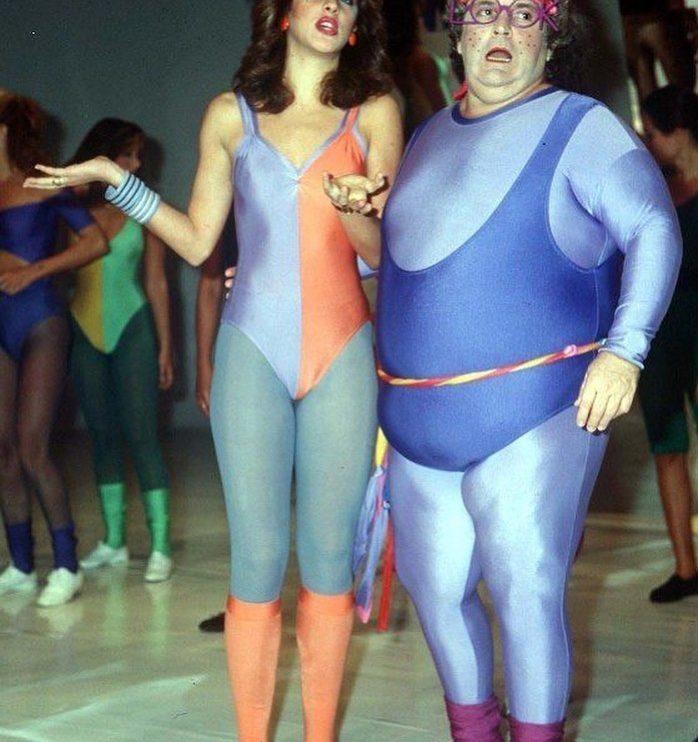 Cláudia Raia e Jô Soares formaram, por dois anos, um casal de famosos bem estranho.