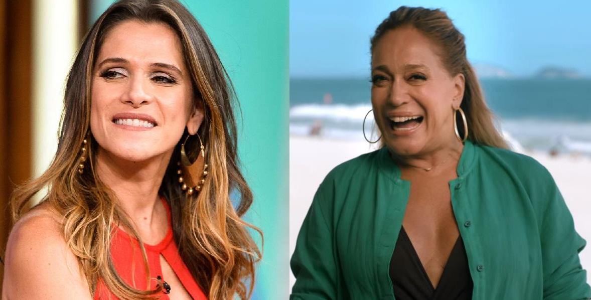 Ingrid Guimarães e Susana Vieira (Foto: Reprodução)