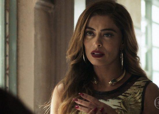 Maria da Paz (Juliana Paes) em cena de A Dona do Pedaço (Foto: Reprodução/Globo)