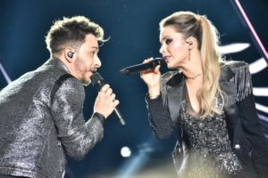 Sandy e Junior fizeram o primeiro show da turnê Nossa História (Foto: Felipe Souto Maior/Ed. Globo)