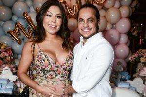 Andressa Ferreira e O ex-ator da Globo e filho de Gretchen, Thammy Miranda estão casados e à espera do primeiro filho do casal (Foto: Francisco Cepeda/Ag News)
