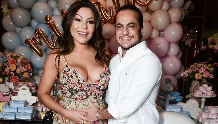 Andressa Ferreira e Thammy Miranda (Foto: Francisco Cepeda/Ag News)