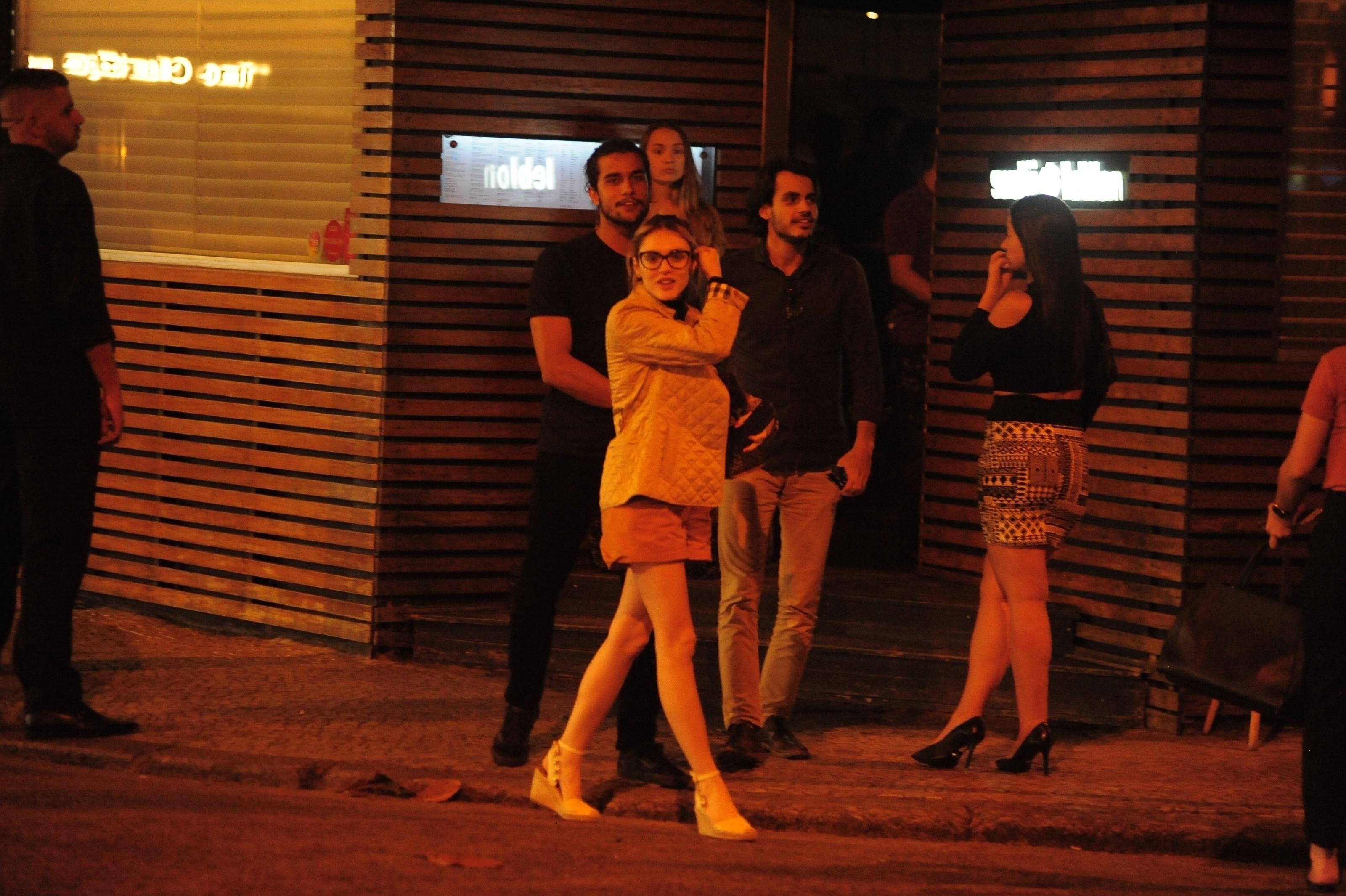 Isabelle Drummond e Fábio Scalon (Foto: Webert Belicio/AgNews)