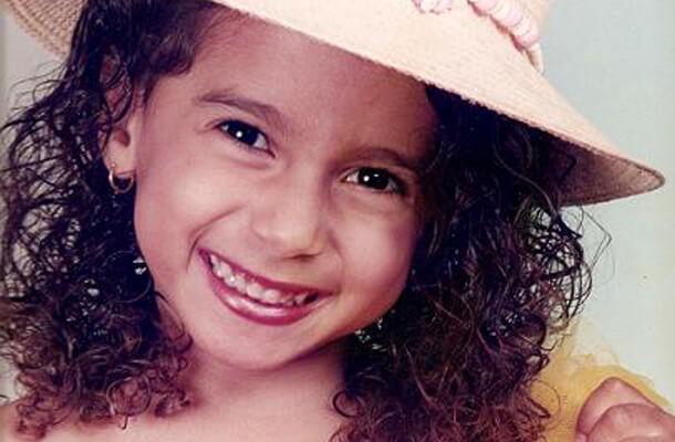 Anitta quando era criança (Foto: Divulgação)