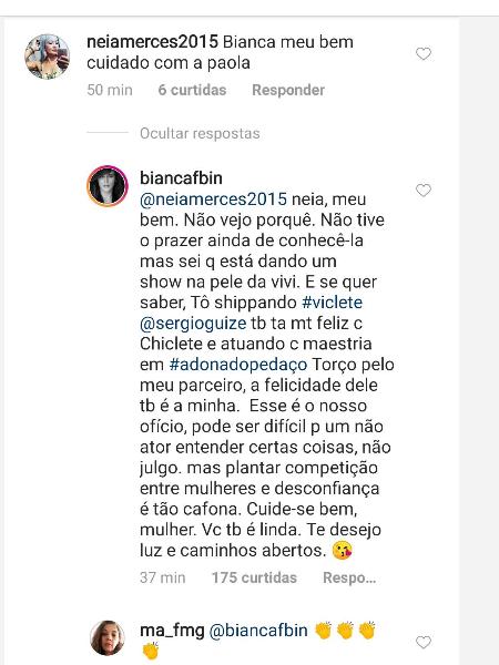 Bianca Bin cortou o mal pela raiz (Foto: Reprodução/Instagram)