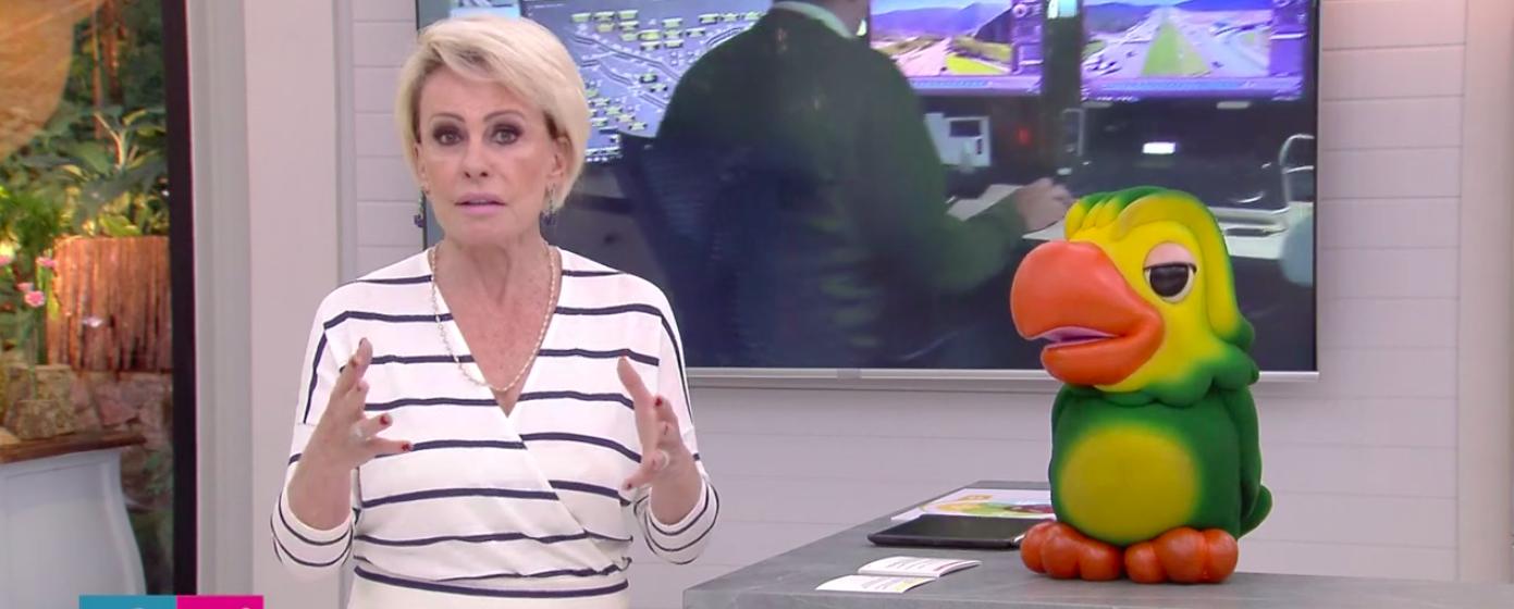 """Ana Maria Braga é pega de surpresa no Mais Você, da Globo passa vergonha e Louro José alerta: """"A gente não está te ouvindo"""" Foto: Reprodução"""