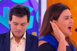 Celso Portiolli e Mara Maravilha (Foto: Divulgação/SBT/ Montagem TV Foco)