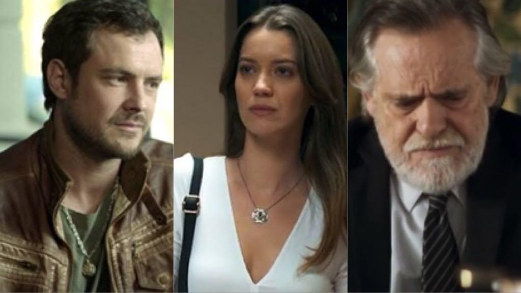 Fabiana descobre que Chiclete que matou Cosme e que Otávio engravidou a filha do motorista e acaba com a vida do pai de Vivi Guedes (Imagem: TV Foco)