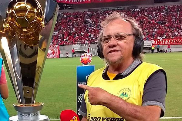 Chico Inácio era apresentador esportivo da rádio Globo no Rio Grande do Norte (Foto: Reprodução)
