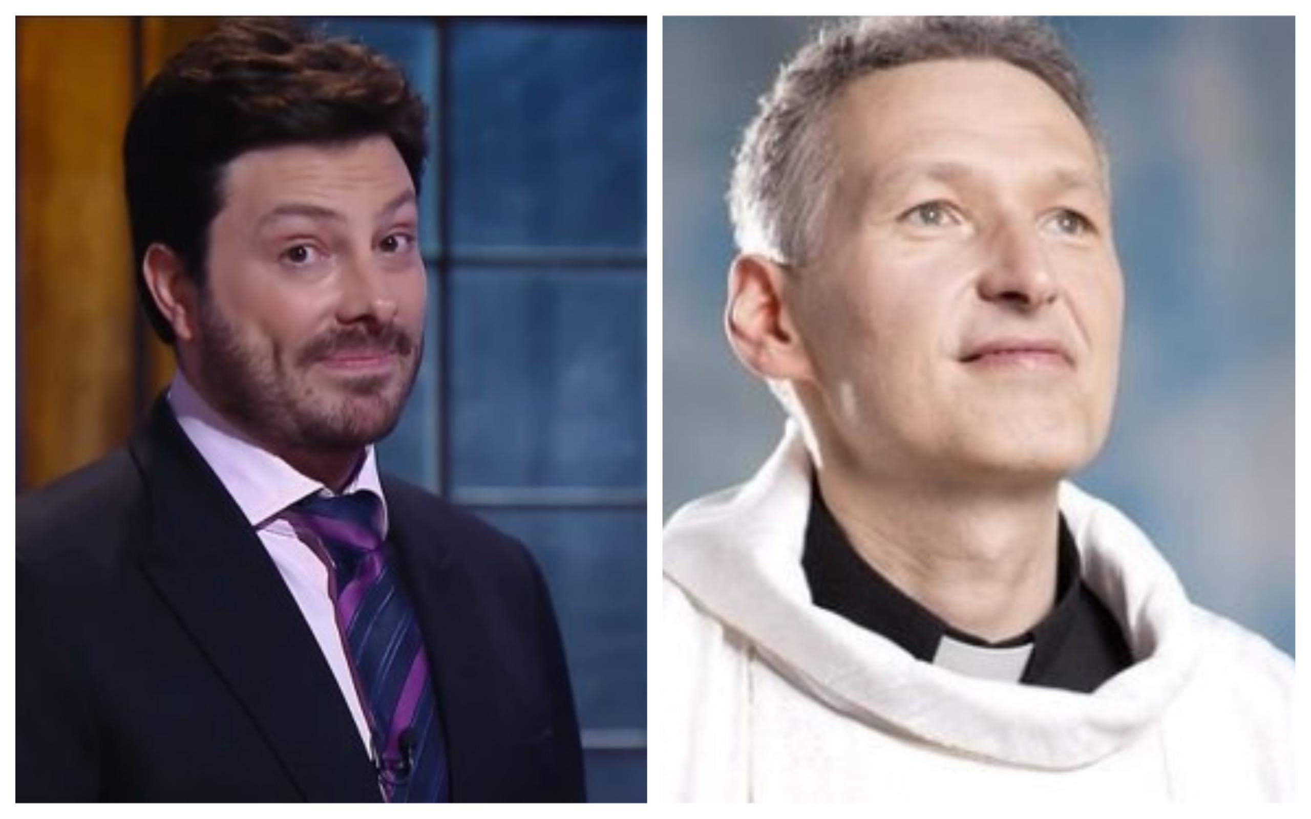 O apresentador Danilo Gentili causou polêmica após fazer piada com episódio trágico com o Padre Marcelo Rossi (Foto: Divulgação / TV Foco)