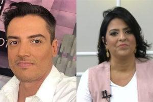 O jornalista e apresentador Leo Dias abriu o jogo sobre suposta rivalidade com Fábia Oliveira (Foto: Divulgação / TV Foco)